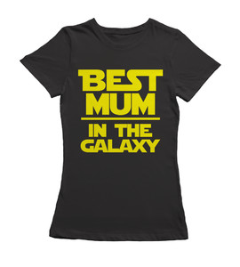 Koszulka Damska - Best MUM in the Galaxy -
