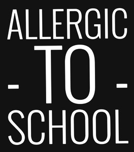 Plecak Allergic to school