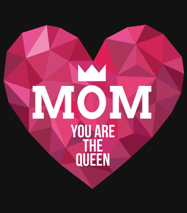 Koszulka Damska - MOM your are Queen -