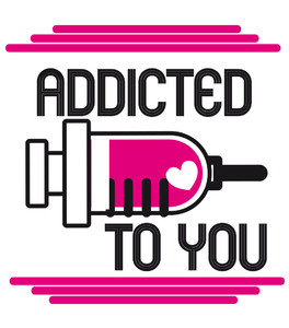 Koszulka Damska - Addicted to you -